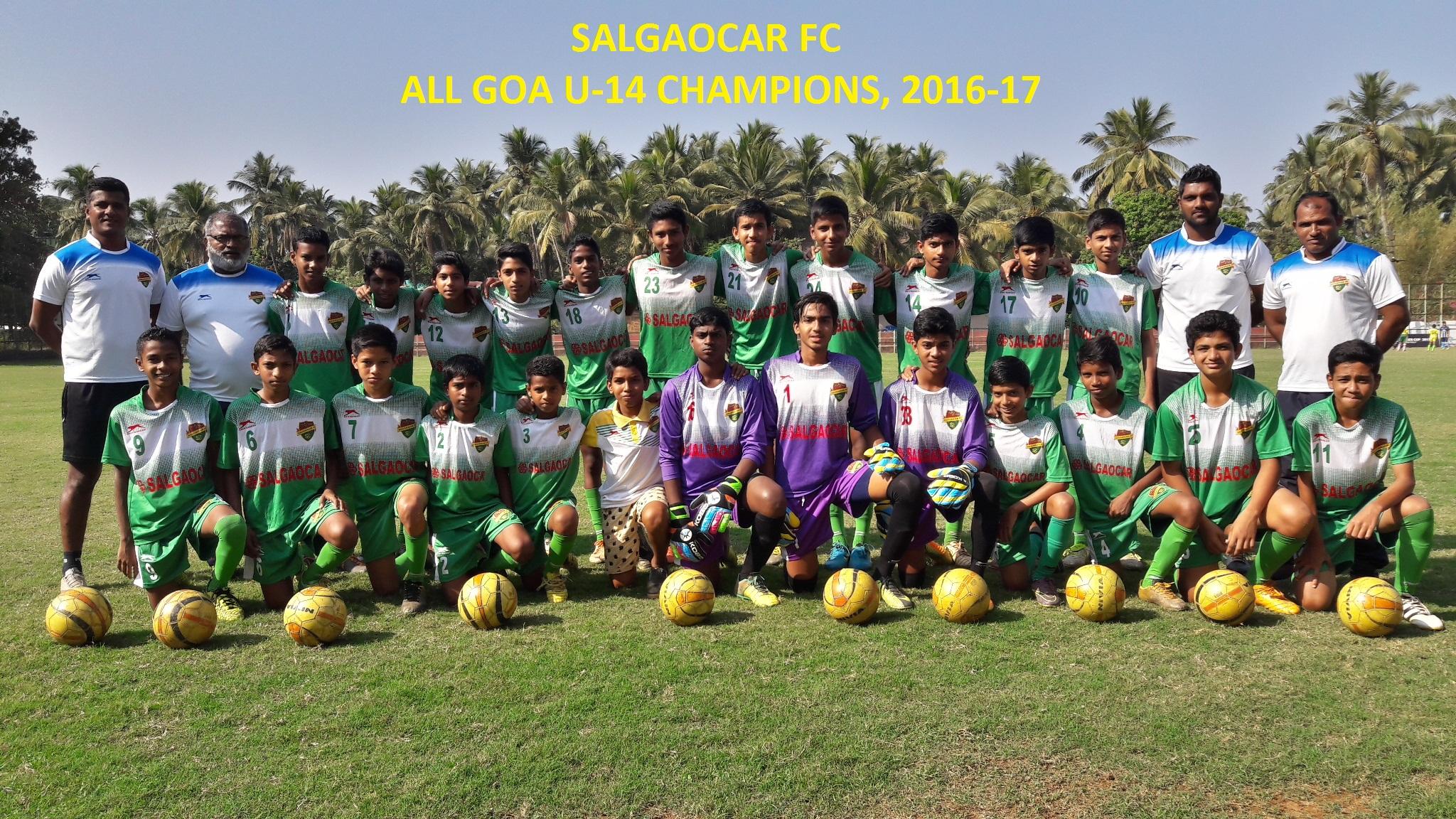 All Goa U-14 Champions
